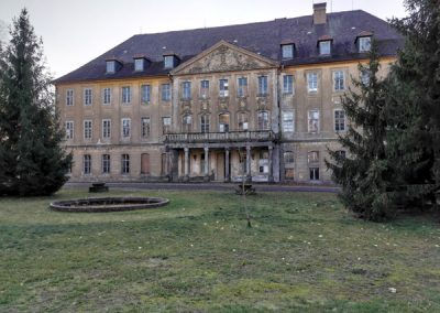 CASTLE AT DRESSEN UHYST, GERMANY